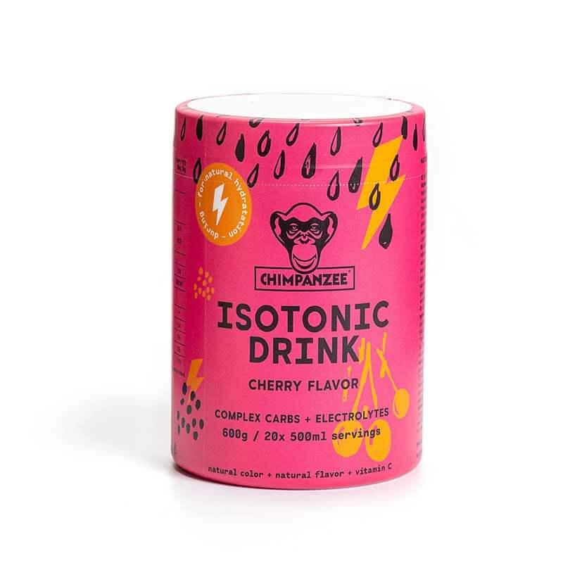 Energetinis (izotoninis) gėrimas CHIMPANZEE vyšnių skonio 600g