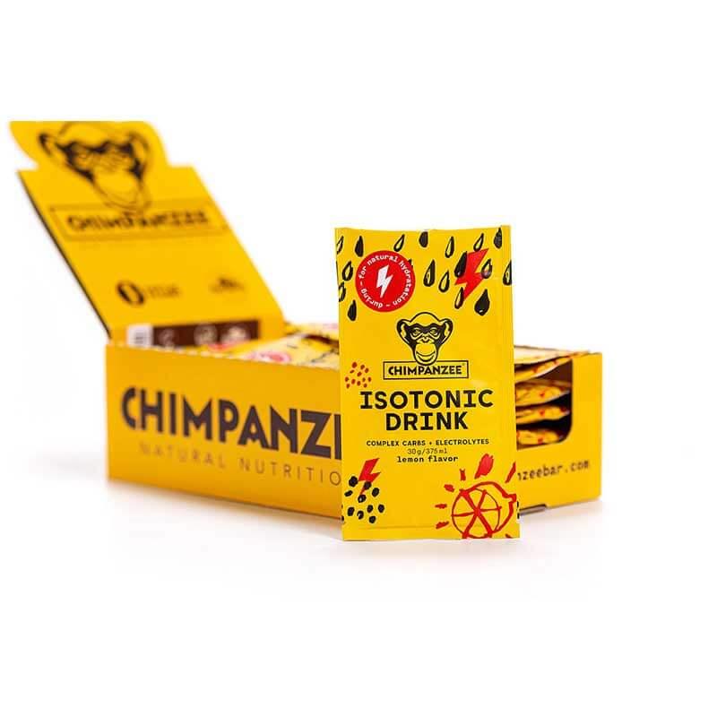 Energetinis (izotoninis) gėrimas CHIMPANZEE citrinų skonio 30g/375ml x 20 (Dėžutė)
