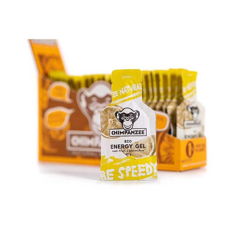 Energetinis gelis CHIMPANZEE citrinų skonio 35g x 25 (Dėžutė)