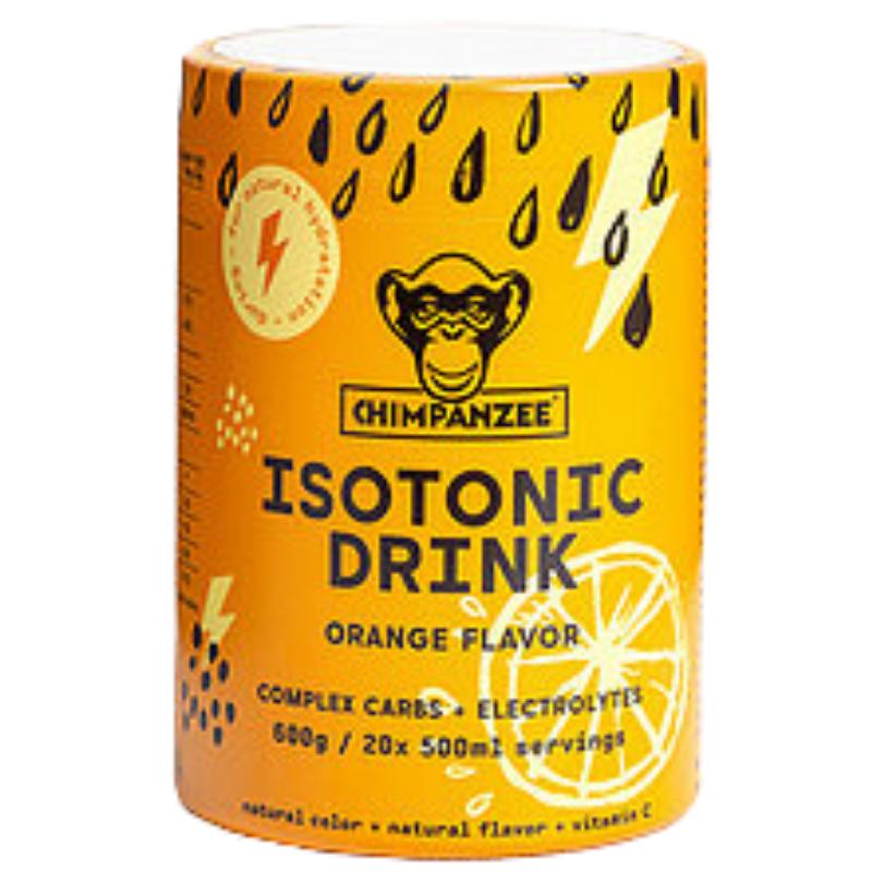 Energetinis (izotoninis) gėrimas CHIMPANZEE apelsinų skonio 600g